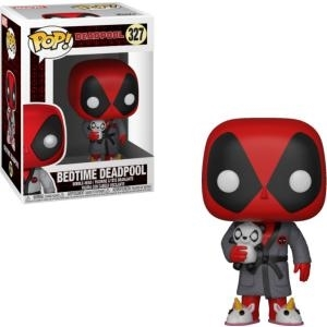 FUNKO - POP ! - Marvel - 327 - Marvel Universe - Bedtime Deadpool [Bobble Head] [Figurine POP]
