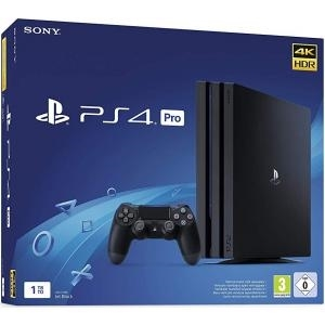 Sony - Console Sony PS4 Pro + 1 Manette - 1 To - Noir [FR / NL / UK / DE / IT] [Console Sony Playstation 4]