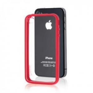 Gear4 - Coque de Protection - IceBox Edge - Rouge [Accessoire iPhone 4 / 4s]